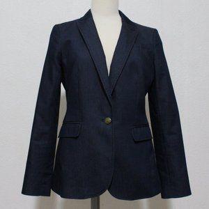 Banana Republic Denim Blue Blazer Jacket